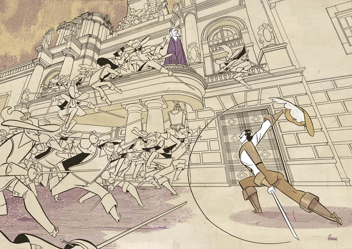 El D'Artagnan de Ágreda
