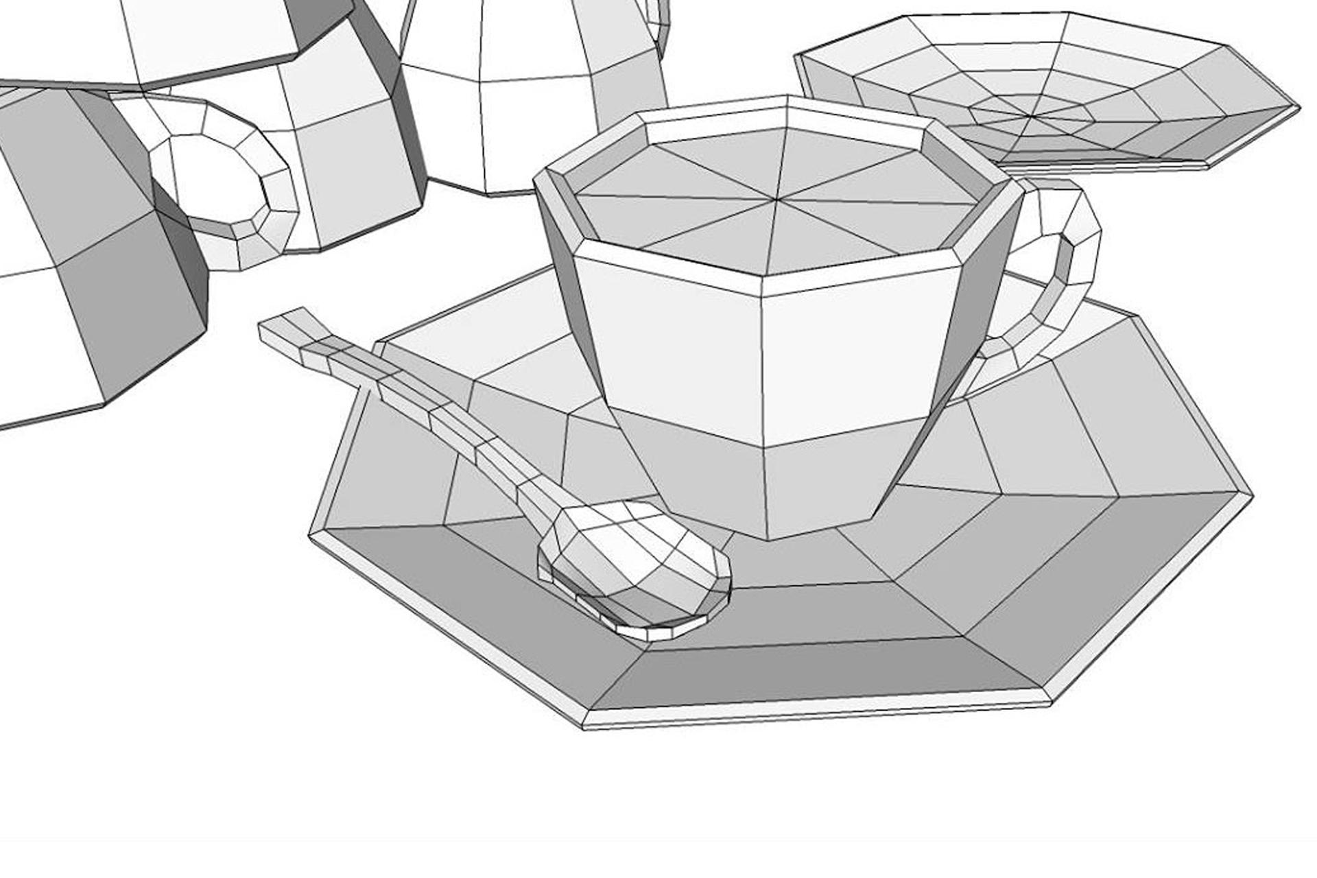 Introducción al Modelado con Quads en Sketchup