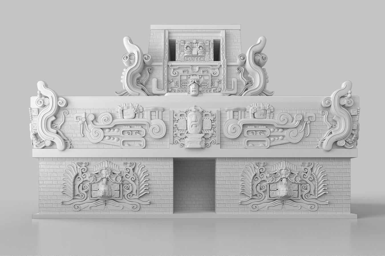 Templo de Rosalila (SketchUp + SUbD)