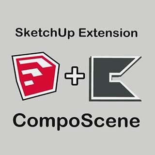 CompoScene para SketchUp, de Indie3D