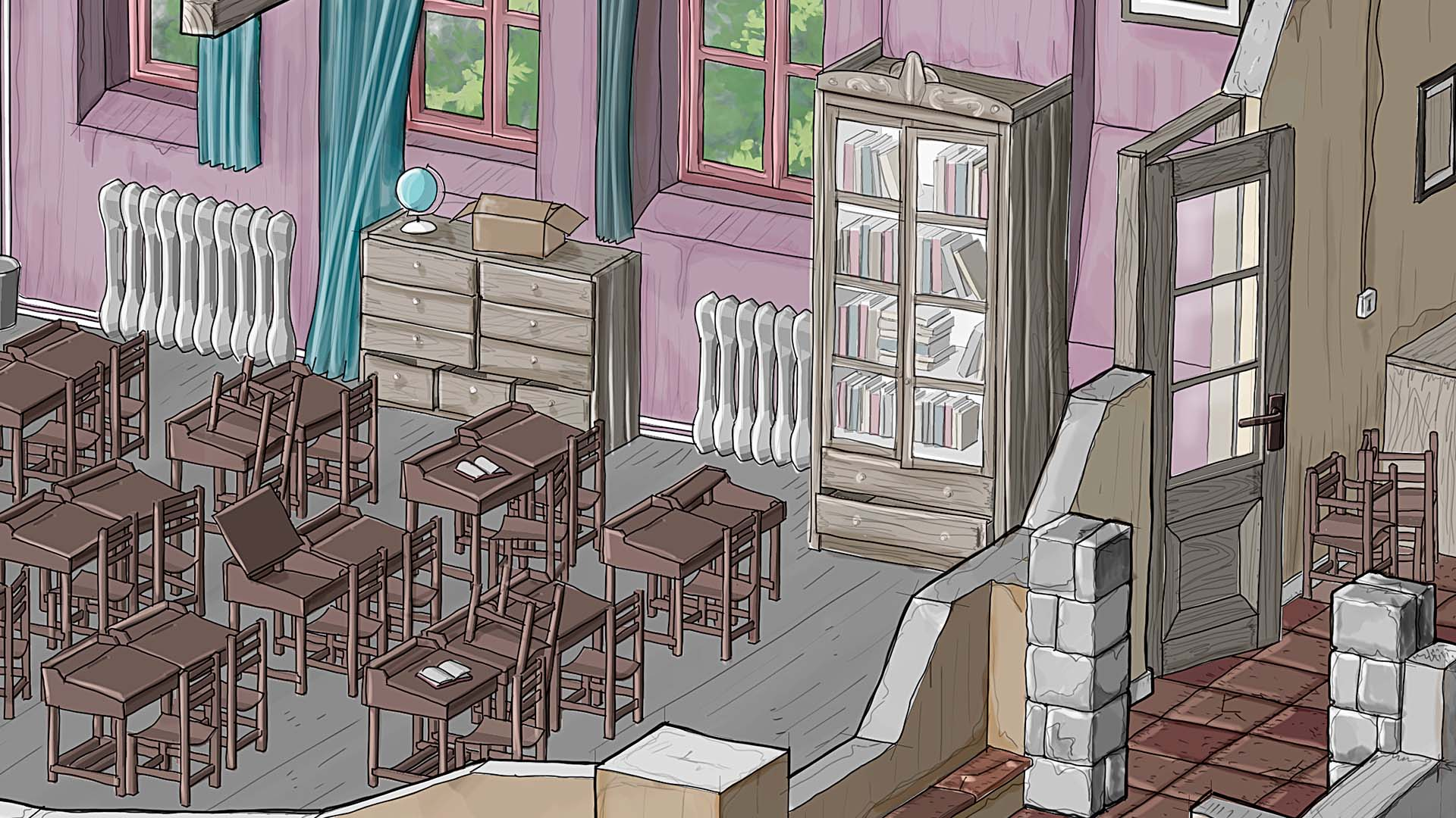 Ye Old Classroom · Color + Clay