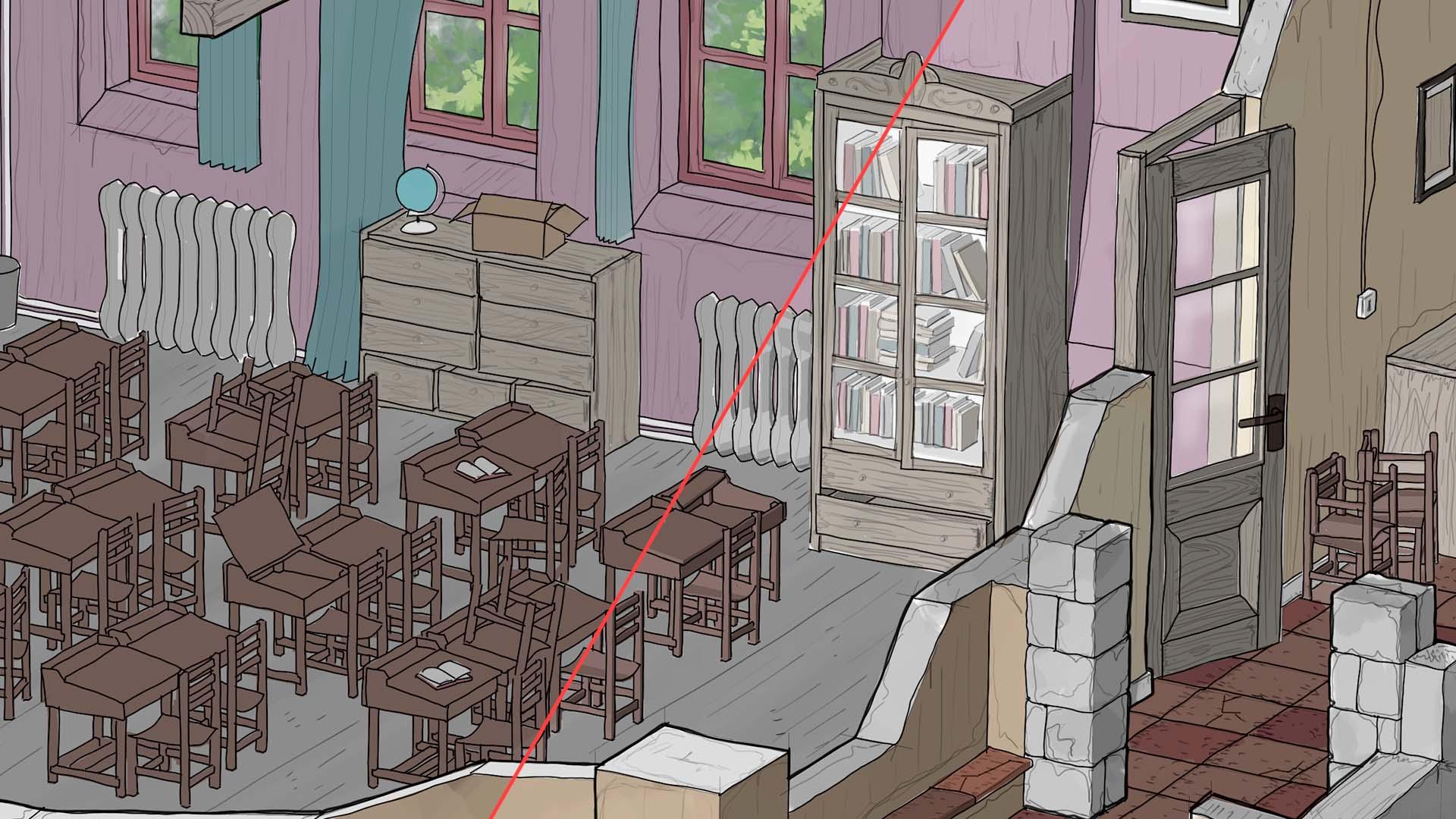 Ye Old Classroom · Color + Volumen
